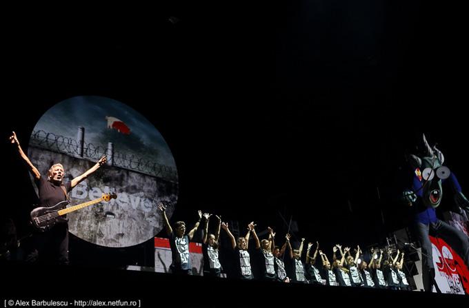 Recenzie: ROGER WATERS – The Wall Live @ Bucuresti