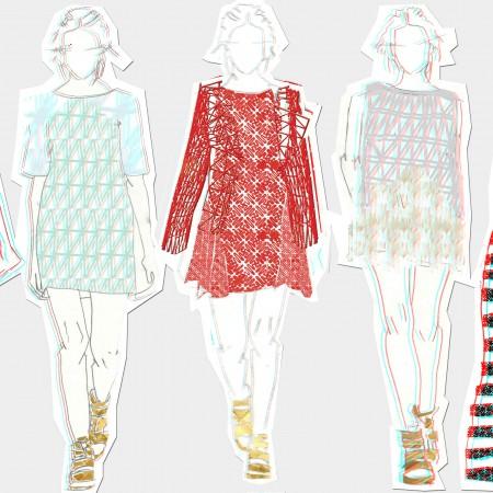 Colectie vestimentara printata 3D. Danit Peleg.