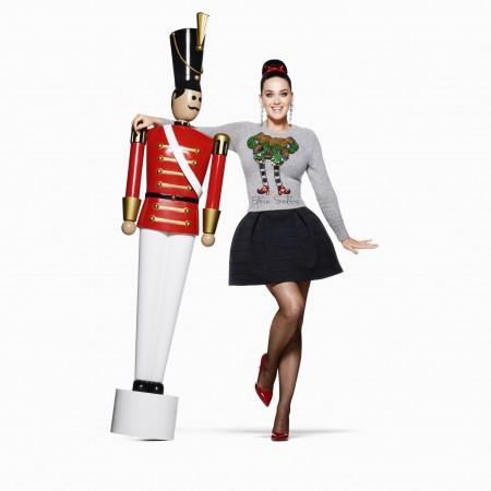 Katy Perry & Campania H&M de sarbatori