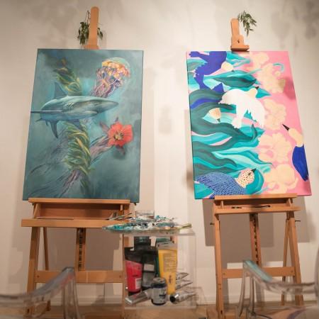 Parfumuri transpuse in creatii de arta si design