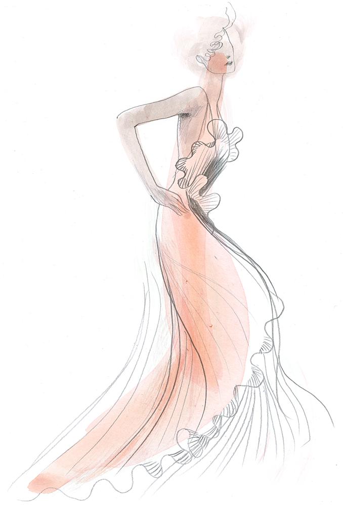 natalia vodianova hm conscious exclusive 2017 ilustratie