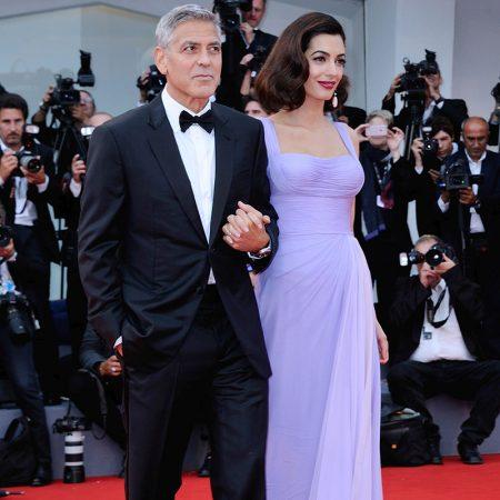 Amal & George Clooney @ Festivalul de la Venetia