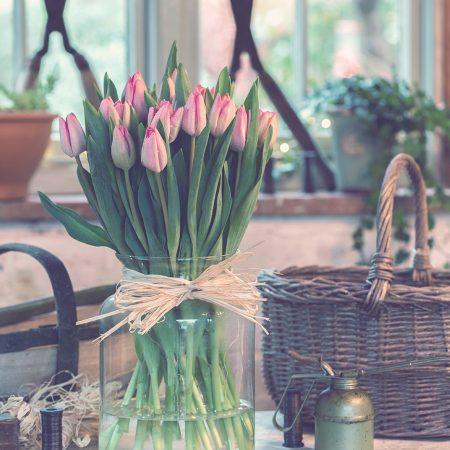 Idei creative pentru a inlocui o vaza de flori