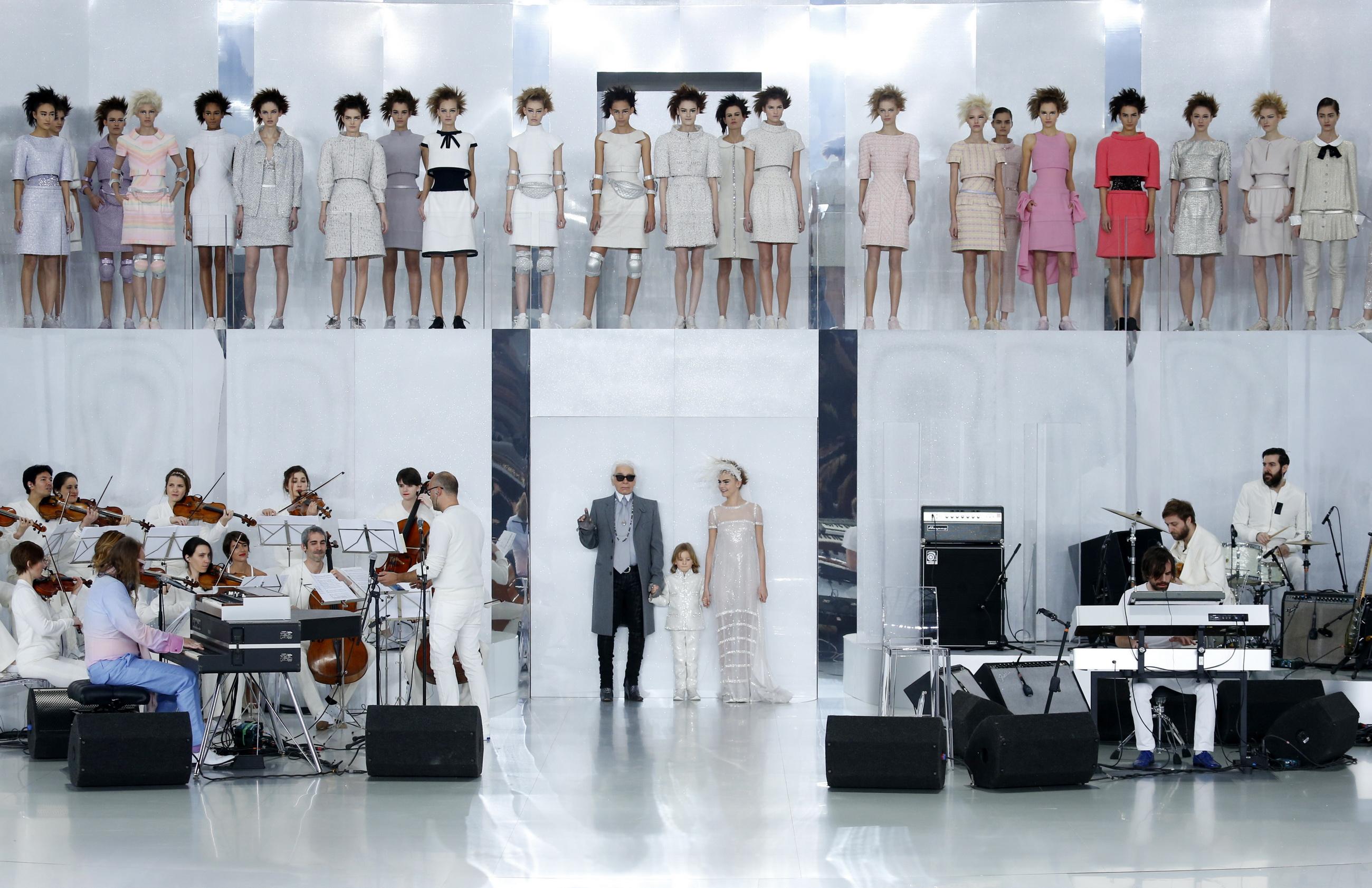 Chanel Haute Couture primavara-vara 2014