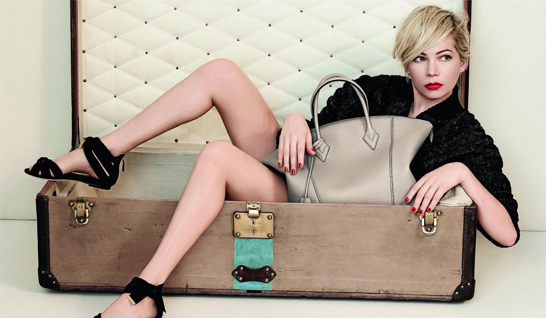 Michelle Williams pentru Louis Vuitton Handbag Spring 2014