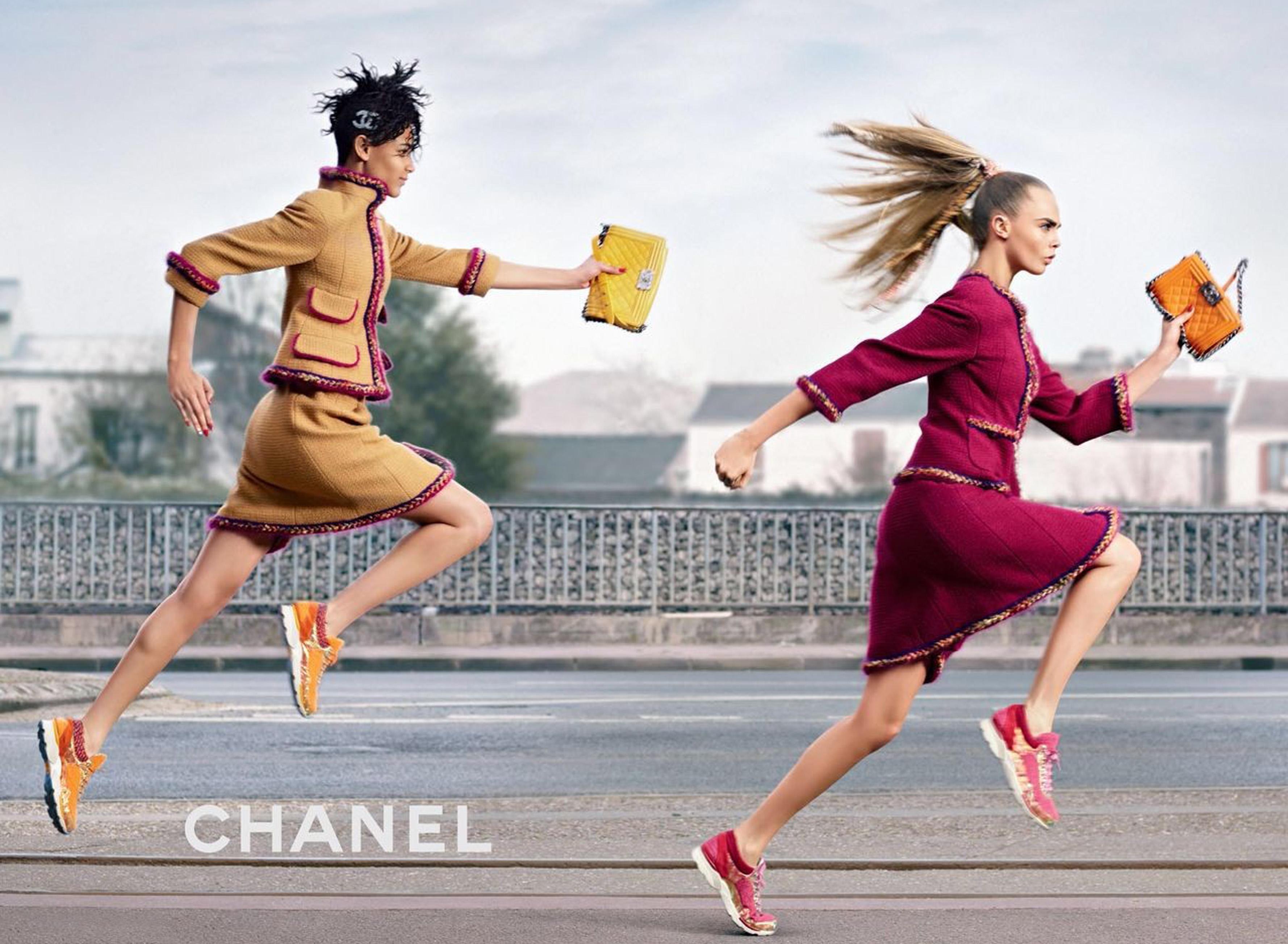 Coco Coach – Campania Chanel FW 2014 by Karl Lagerfeld