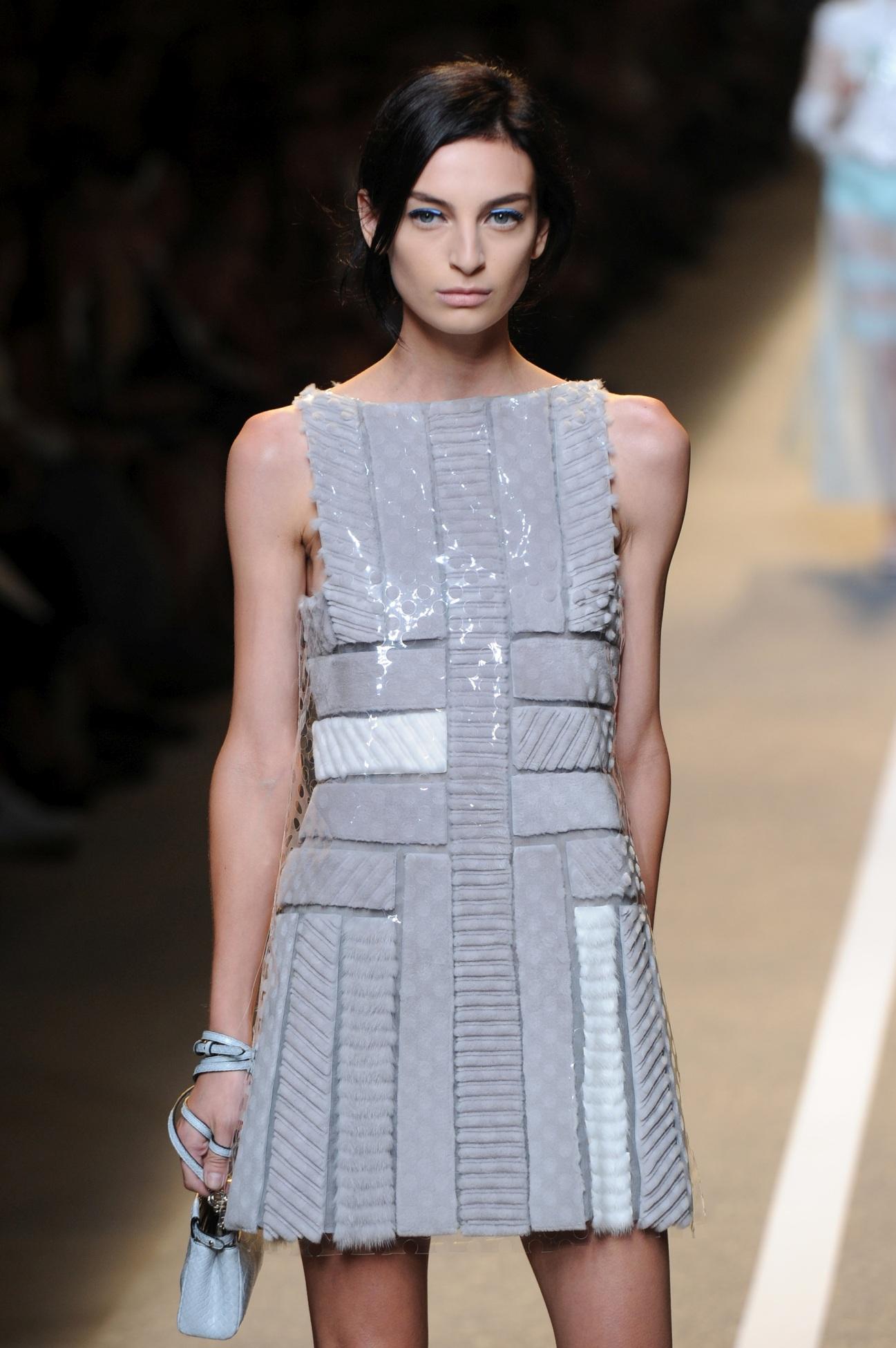 Fendi SS 2015 @ Milan Fashion Week
