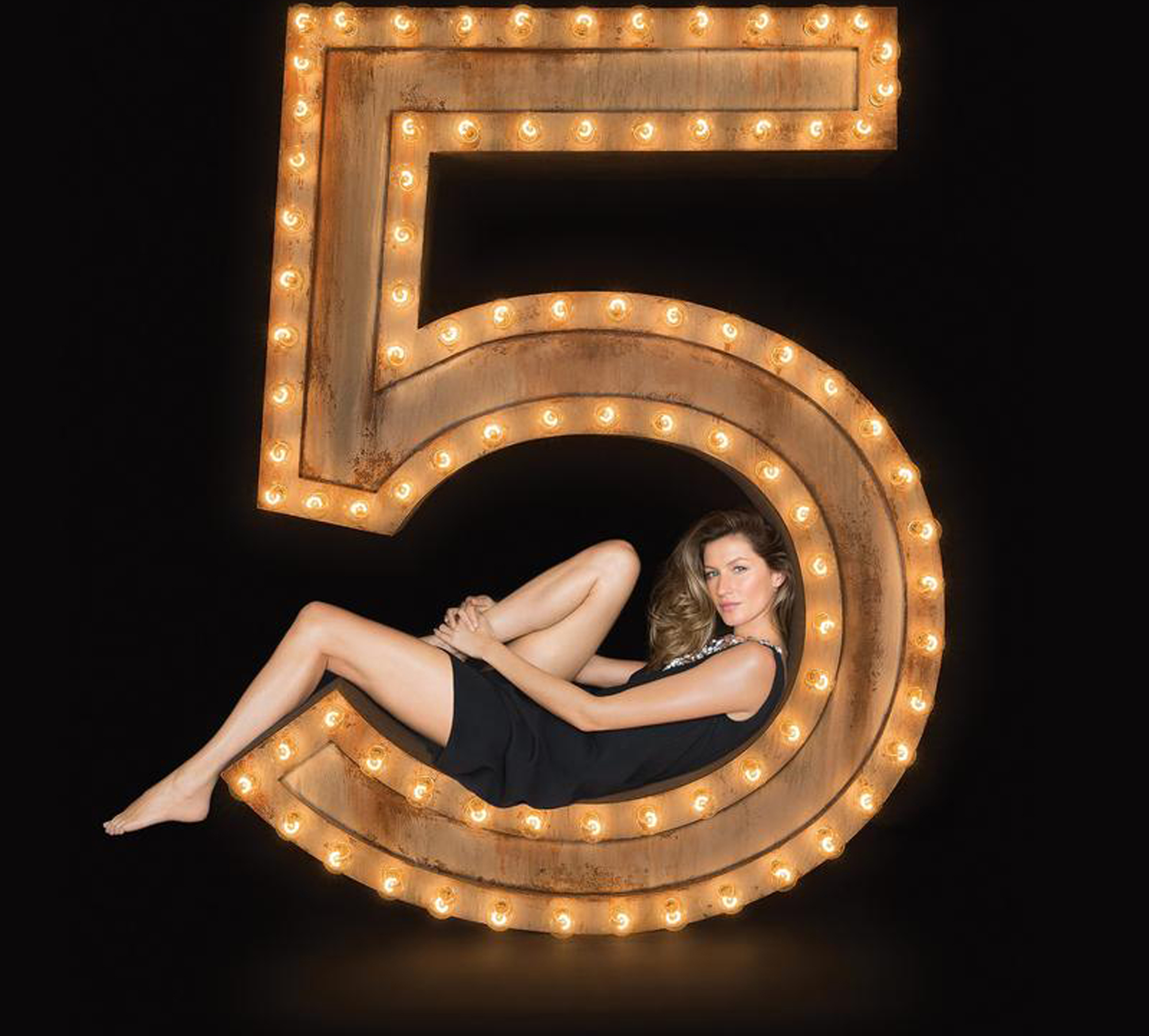 Gisele Bundchen. The One That I Want.<br> Chanel No. 5