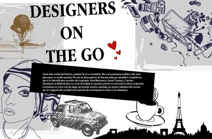 Designers on the go: Irina Marinescu