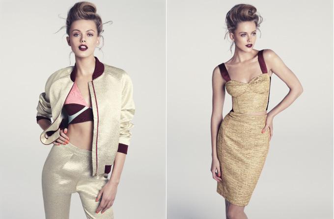 Frida Gustavsson, imaginea colectiei H&M vara 2012