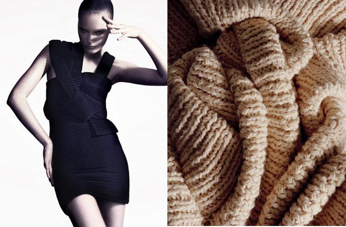 Knitwear sexy: Sandra Backlund