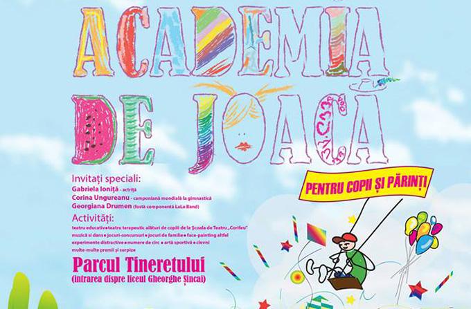 Corina Ungureanu da startul 'Academiei de Joaca' de Ziua Copilului