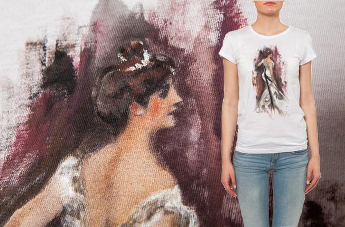 Alina Petcan: Tricouri cu povesti pictate in acuarela… si nu numai