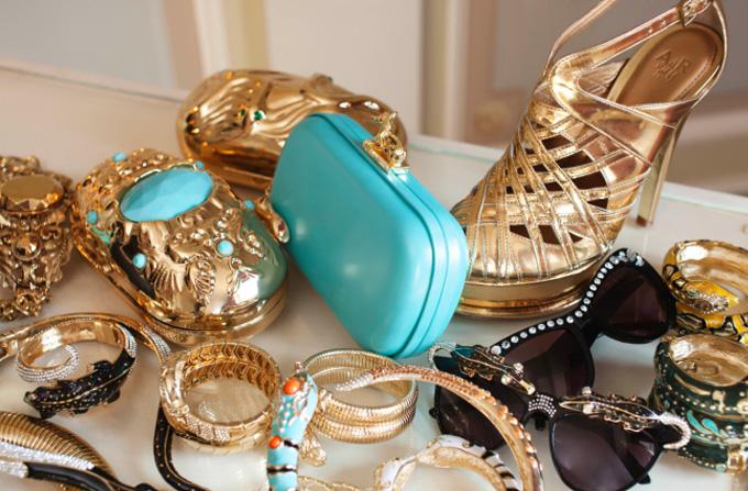 ANNA DELLO RUSSO: Accesorii senzationale pentru H&M
