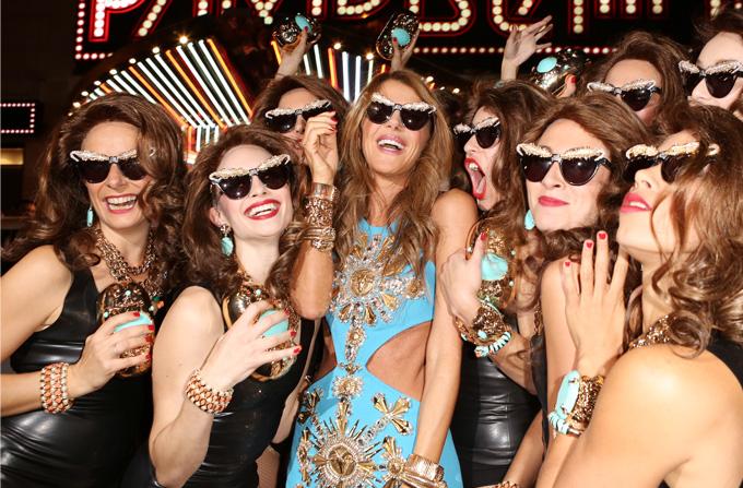 Lansarea colectiei Anna Dello Russo at H&M la Paris