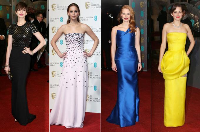Cele mai frumoase tinute de la Gala BAFTA 2013