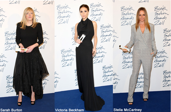 SARAH BURTON, designerul anului la British Fashion Awards
