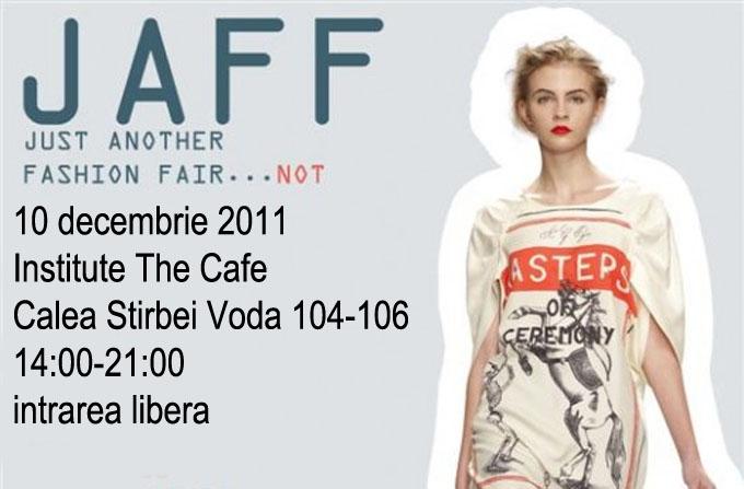 JAFF la Institute The Cafe – editie de design romanesc