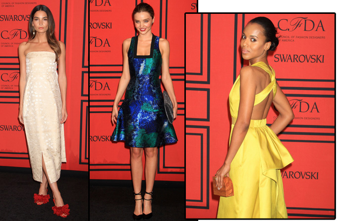 Tinutele vedetelor la CFDA Fashion Awards 2013