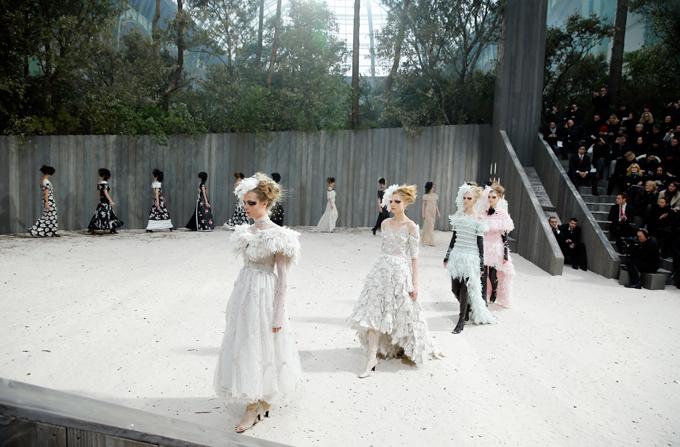 CHANEL Haute Couture, colectia primavara-vara 2013