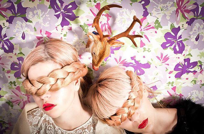 Chotronette in revista Vogue UK