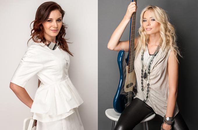 Laura Cosoi si Cristina Chipurici: Rock in Style vs. All White