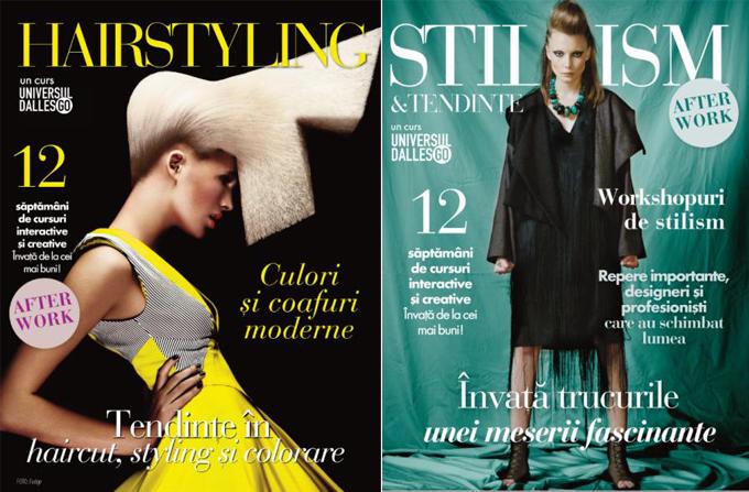 Stilism, Make-up, Hairstyling, Fotografie… cursuri interactive afterwork