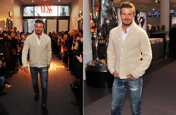 Lansarea DAVID BECKHAM bodywear for H&M la Londra