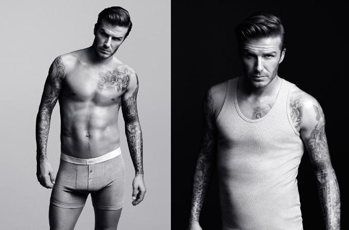 David Beckham, imaginea propriei linii de lenjerie pentru H&M