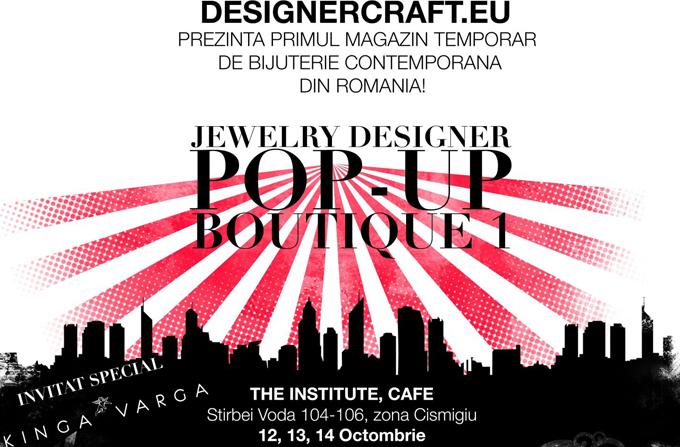 Jewelry Designer Pop Up Boutique @ Institute Cafe