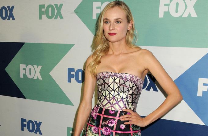 Lookul saptamanii: Diane Kruger intr-o rochie Mary Katrantzou