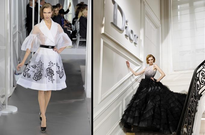 Colectia Christian Dior Haute Couture SS 2012
