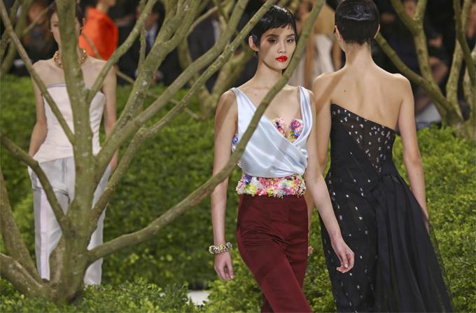 DIOR Haute Couture, colectia primavara-vara 2013