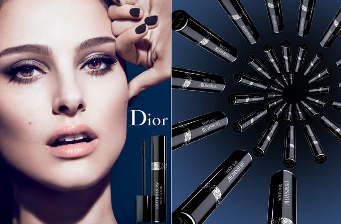 Natalie Portman, imaginea noii mascara Diorshow New Look