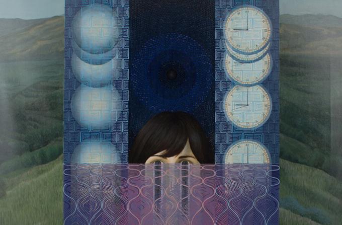 Expozitia DOUA PLANURI a lui Victor Fota @ Imbold, Galeria