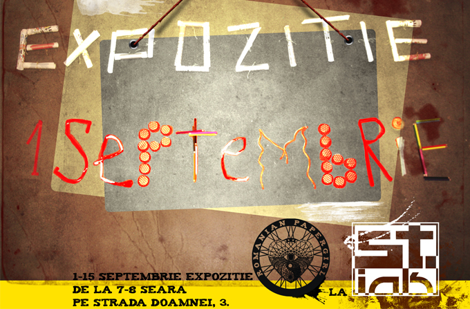 Incepe expozitia Romanian Papergirl, editia 3