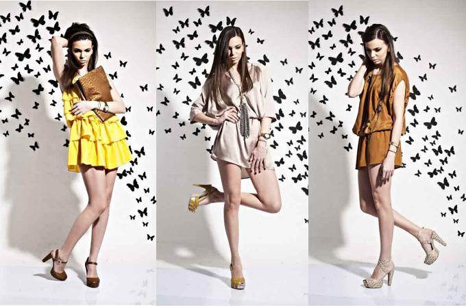 FLOWER COCKTAIL – Colectia Smiling Shoes primavara-vara 2012