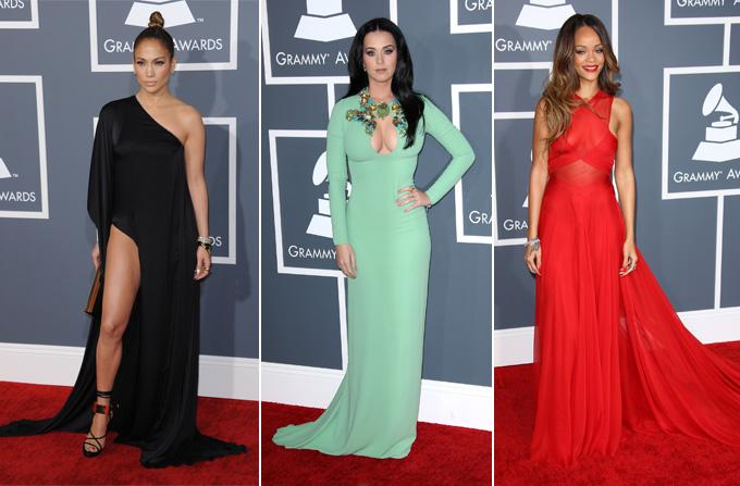 Vedetele la Premiile Grammy 2013