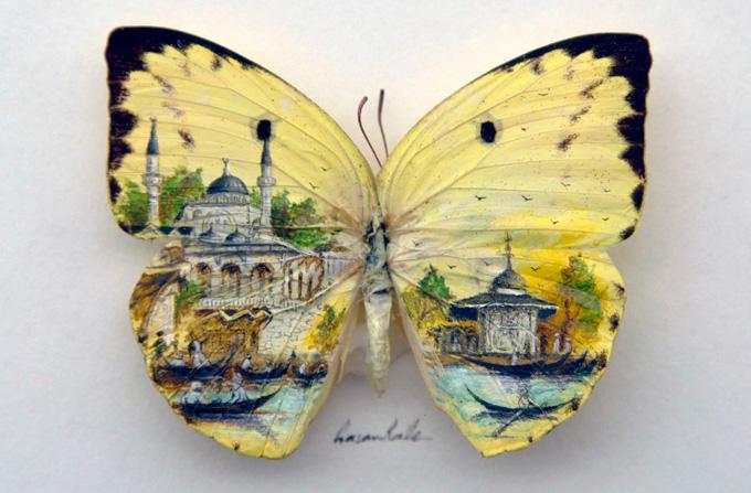 Hasan Kale – Picturi pe aripi de fluturi