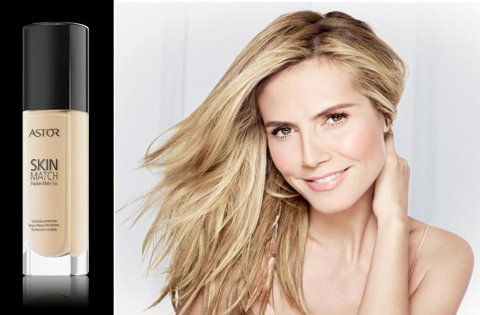 """Beauty News: Heidi Klum found her """"SkinMatch"""""""