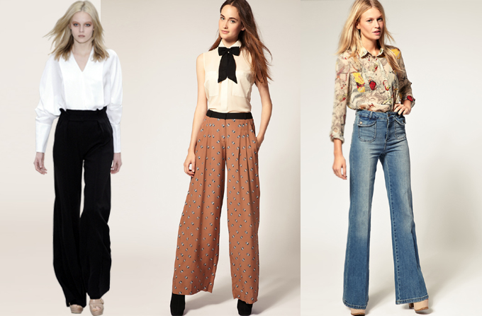 Hot: pantalonii largi – wide leg