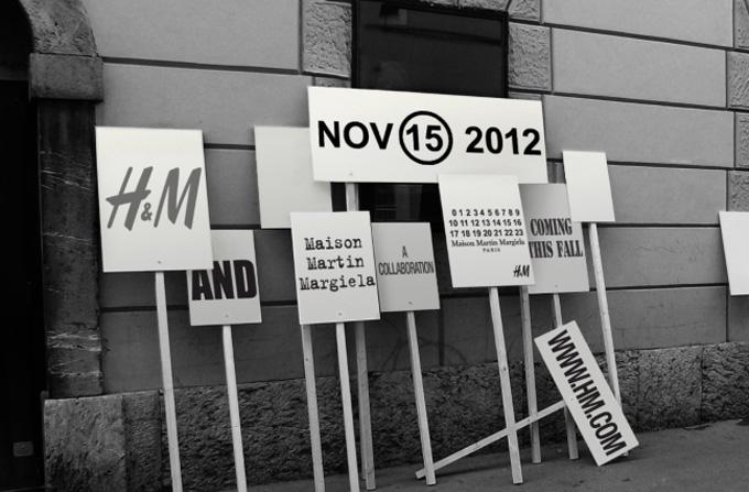 H&M colaboreaza cu Maison Martin Margiela pentru toamna/iarna 2012