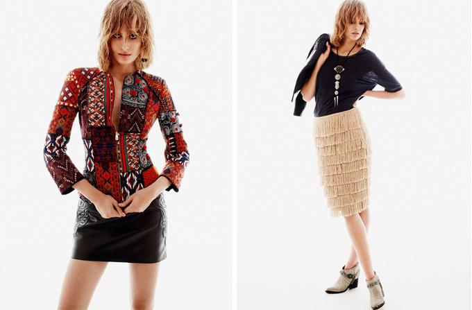 H&M Spring 2013 – Noul look boem