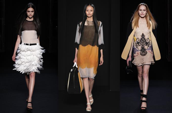INGRID VLASOV la Paris Fashion Week