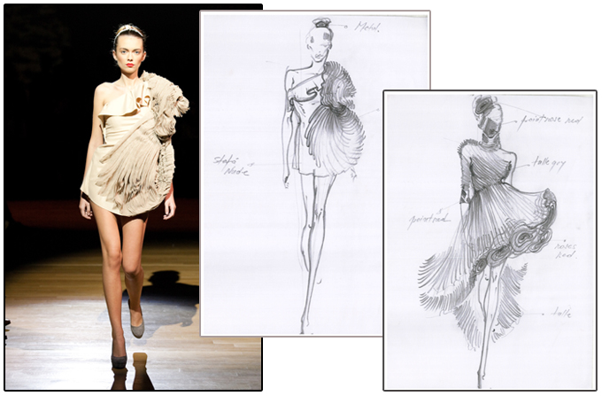 Iris Serban in Vogue Talents