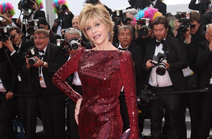 JANE FONDA – o prezenta stralucitoare la Cannes