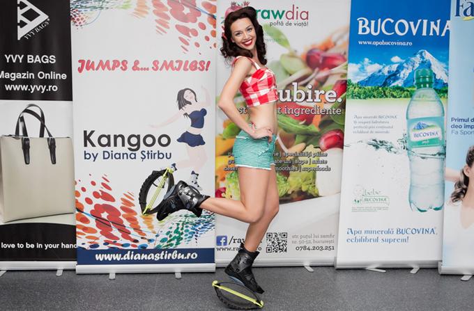 Interviu cu Diana Stirbu despre Kangoo Jumps