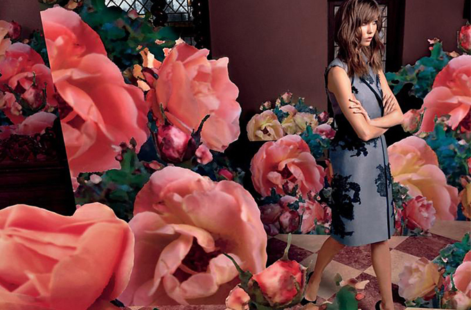 Karlie Kloss – La vie en rose