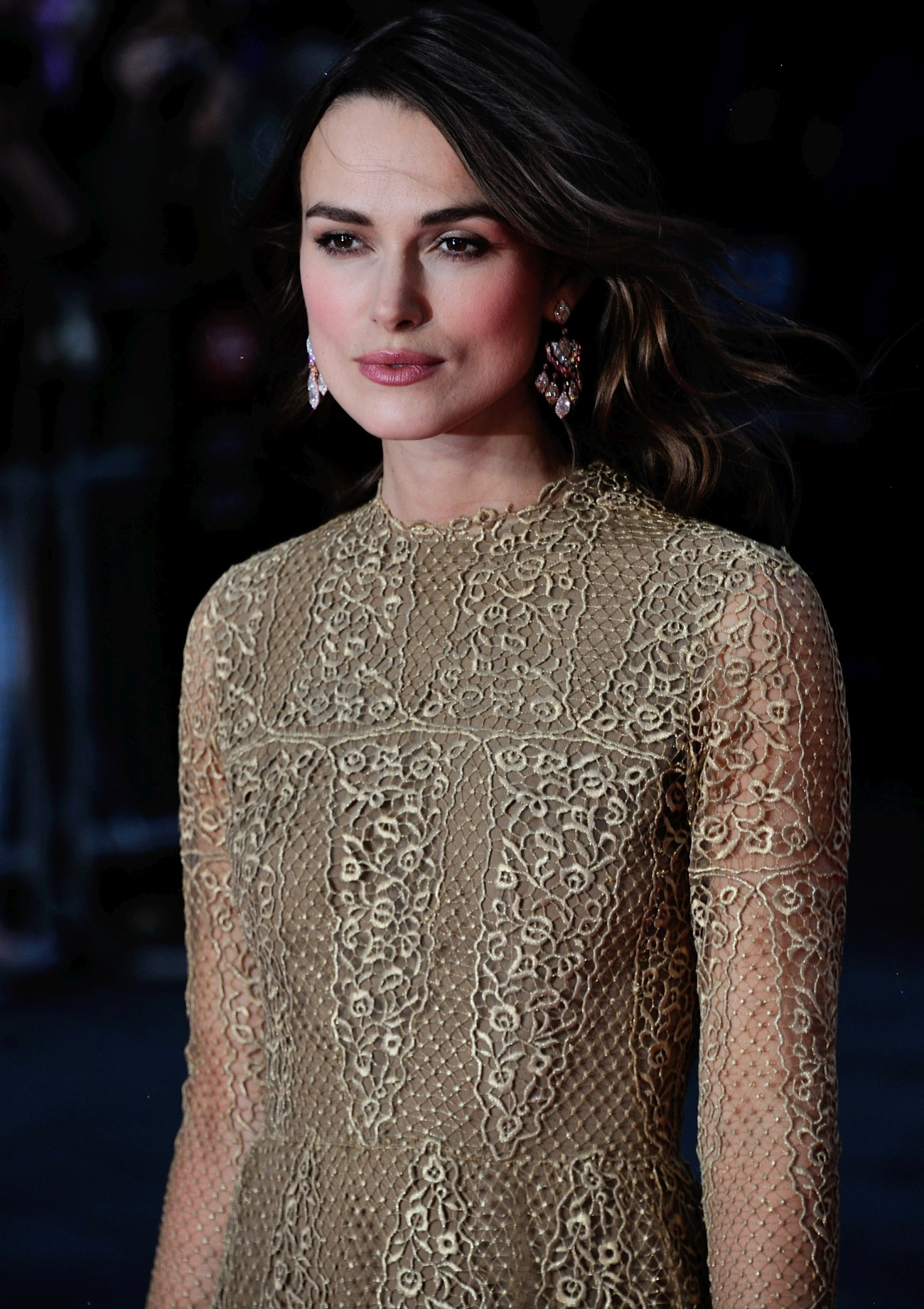 Keira Knightley. She's got the look.