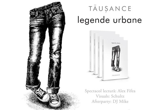 """Lansarea volumului de poezie """"legende urbane"""" de tausance"""